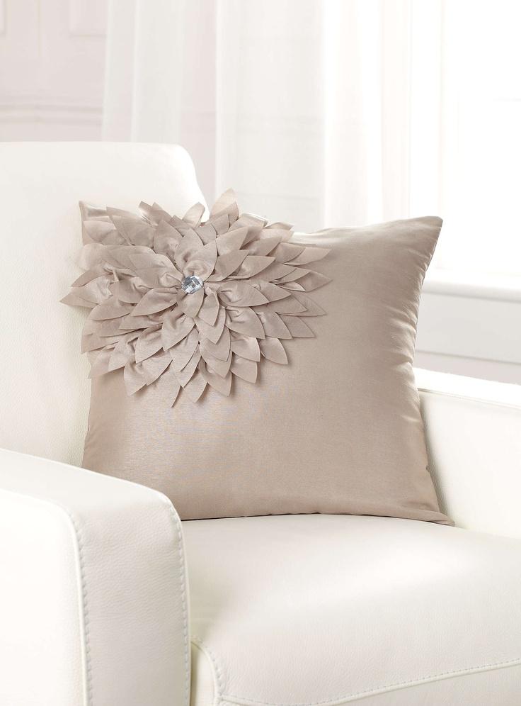 flower jewel throw pillow Home Decor Pinterest Throw Pillows, Jewels and Pillows