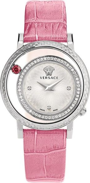 Versace Versace Venus Analog Display Quartz Pink Watch