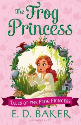 The Frog Princess Series-love this cover!!!