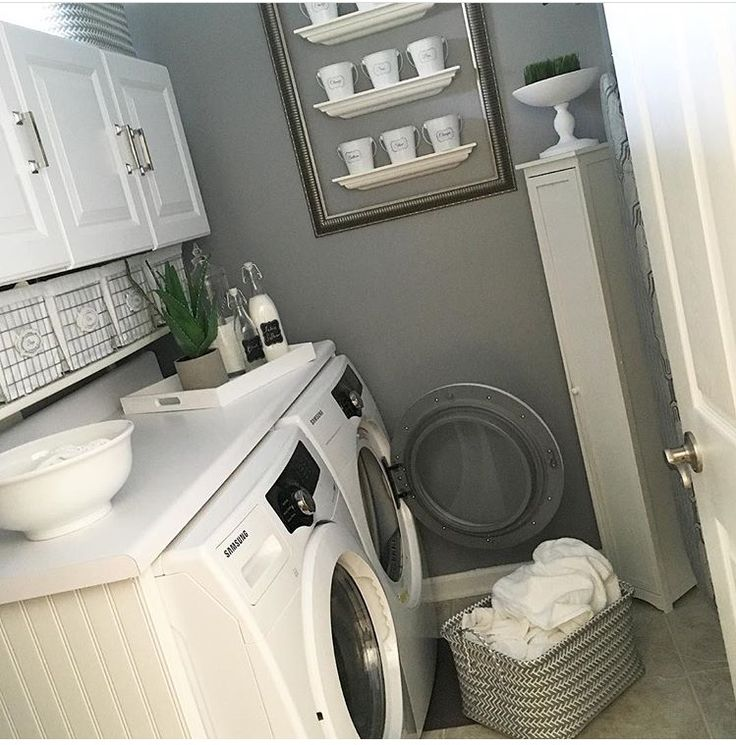 Laundry Room   at home with nikki