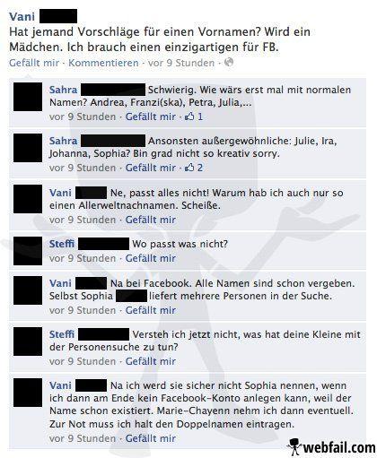 Generation Facebook - Facebook Fail des Tages 22.12.2013