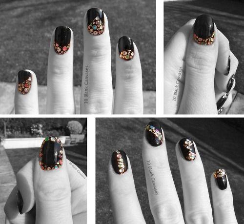 Elegant touch Bling Nail wraps