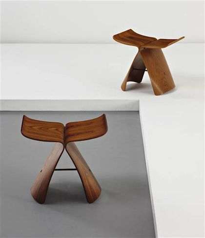 Butterfly stool  designed by Sori Yanagi in 1956  Pure and simple Japanese design......