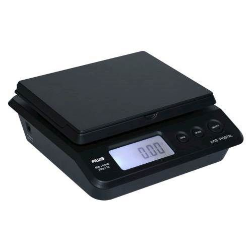 American Weigh Scales - Digital Postal Scales - Black