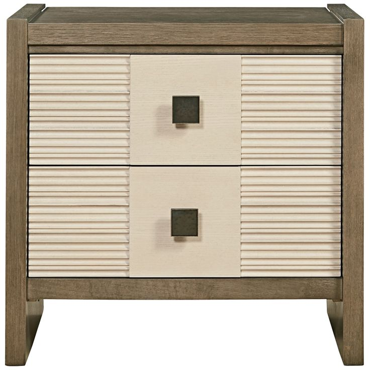 "Synchronicity 30"" Wide Modern Nightstand with Power Outlet ..."