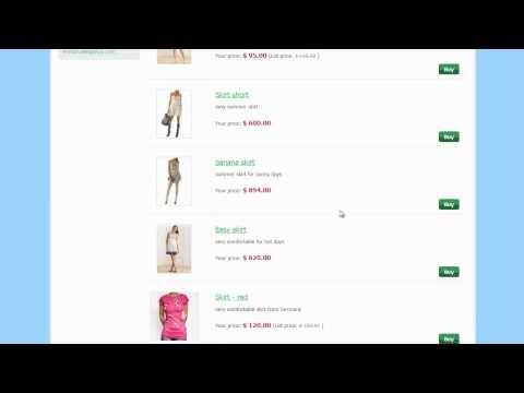 How to create an e-shop