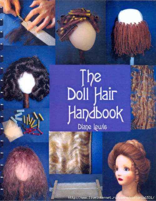 """Free copy of """"The Doll Hair Handbook"""" - great information."""