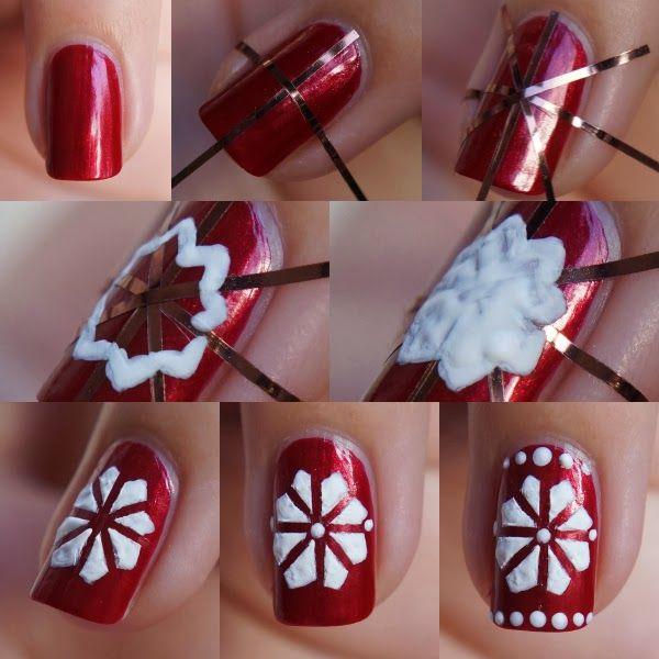 Ugly Christmas Sweater Nail Art ~ Beautyill | Beautyblog met nail art, nagellak, make-up reviews en meer!