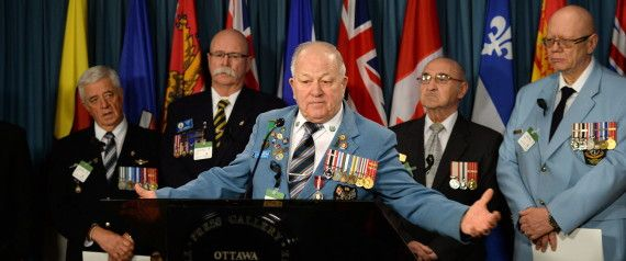 Angry Veterans To Soldiers: Help Us Beat Harper In Next Election