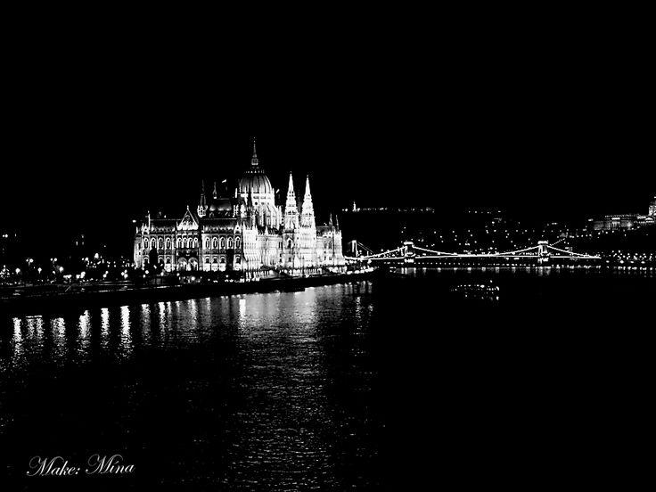 On the Margaret Bridge in Budapest