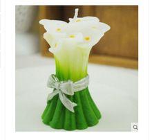 Flower Handmade soap Molds Candle Molds Silicone Mold Chocolate Mold Fondant Cake Decorating Tool(China (Mainland))