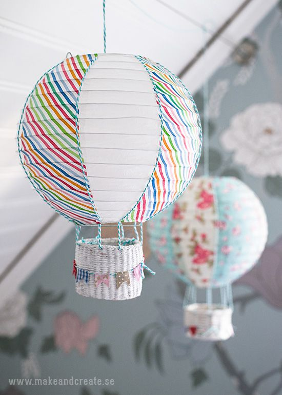 Rislampa blir luftballong - Pyssel & pysseltips - Make & Create
