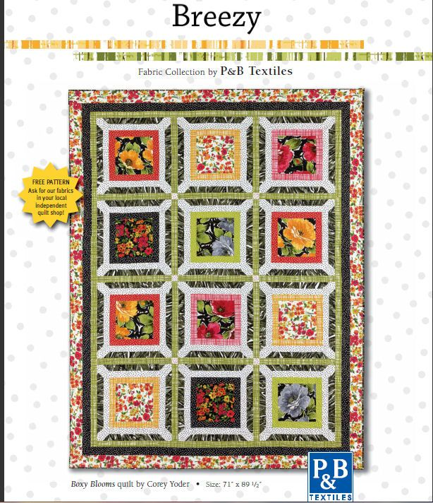 Free Quilt Patterns For Large Prints : 17 Best images about Large Print Quilts on Pinterest Free pattern, Quilt and Mccall s quilting