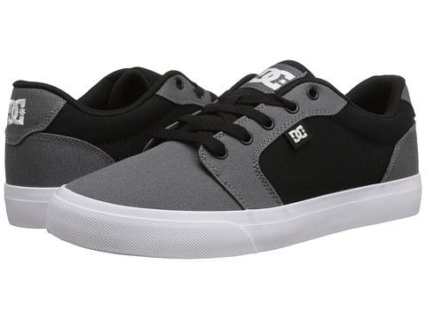 DC Anvil TX Dark Grey/Black - Zappos.com Free Shipping BOTH Ways