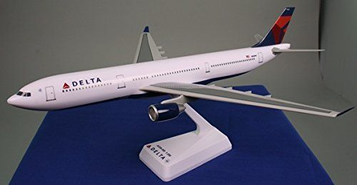 Delta 07Cur A330300 Airplane Miniature Model Snap Fit 1200  AAB33030H011 >>> Find out more about the great product at the image link.