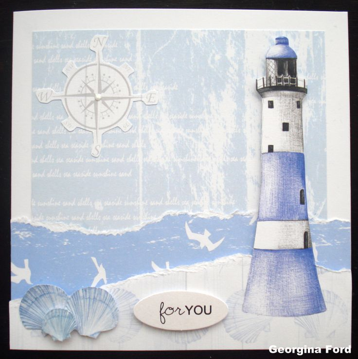 Card designed by Georgina Ford using Harbour Boulevard by Craftwork Cards.