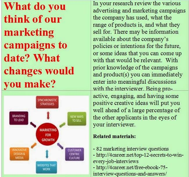 20 best Marketing interview questions images on Pinterest Digital - marketing interview questions