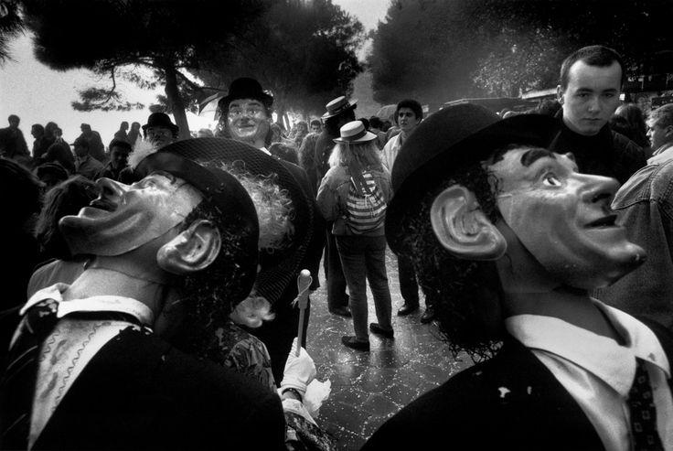 Josef Koudelka. ITALY. Venice. Carnival. 1990