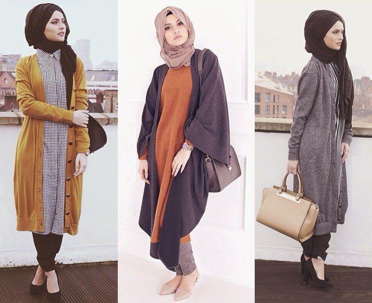 Vêtement hijab 2015 – modèle hiver