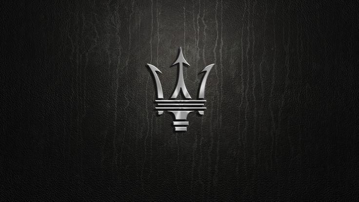 Maserati Logo 3d Wallpaper Maserati Logos Infiniti Logo