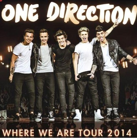 "ONE DIRECTION Makeup & Concert Ticket Giveaway  #makeupby1D #thelookscollection #markwins Each winner will receive 2 tickets to the One Direction ""Where We Are"" Tour Concert at Gilette Stadium in Foxborough, MA for Friday, August 8th, 2014, at 7:00pm. Transportation to/from the concert and lodging not included.  Ends: July 29th, 2014"