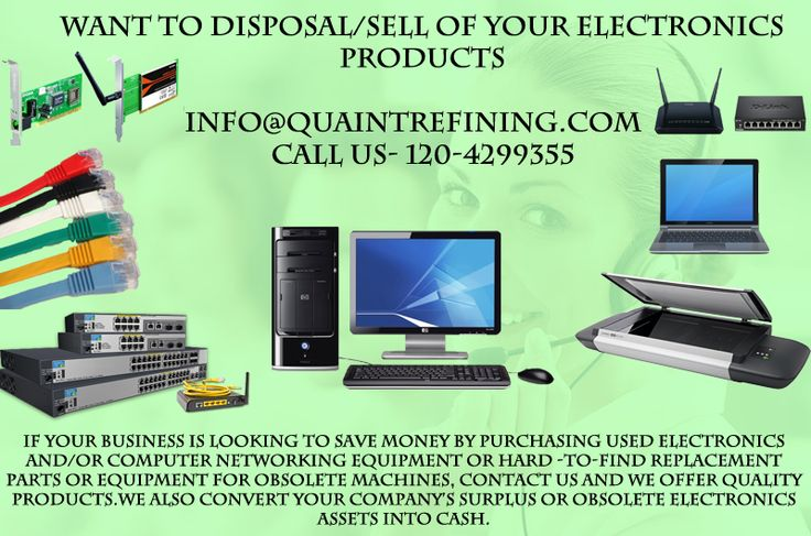 Are you Looking for that company who Buy your old and dump office IT EQUIPMENTS. Visit - http://www.quaintrefining.com/