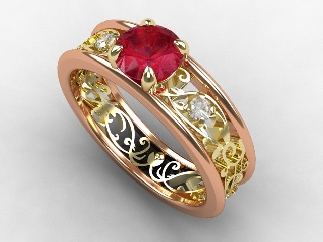 53 best Ruby rings images on Pinterest Ruby rings Jewellery and