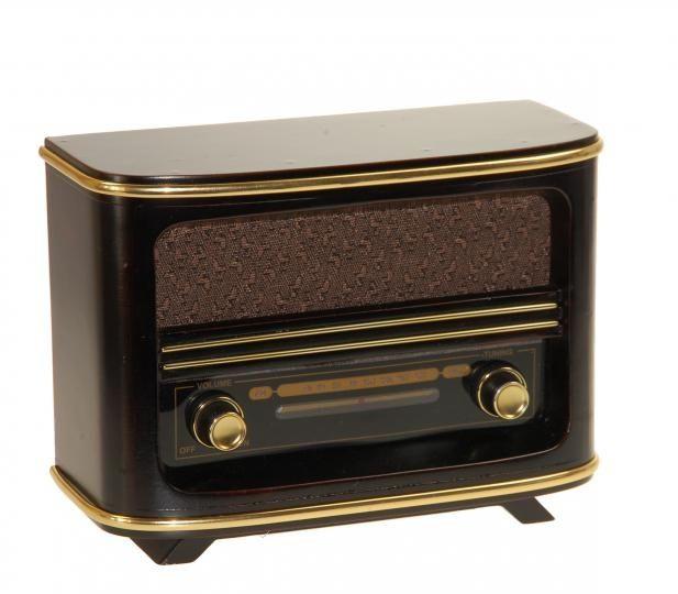Radio Sintonizador de estilo retro pequeño #retro #vintage #radios #musica #sintonizador #antiguo