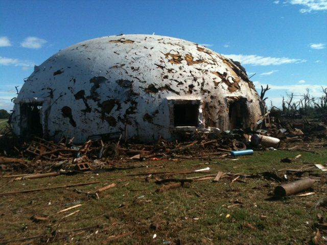 Underground Dome Homes | domes can withstand powerful winds and strong earthquakes concrete ...