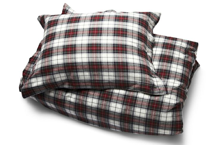 Embedded like FLORENCE, ckeckered Bedding Set in HOLIDAY Design!