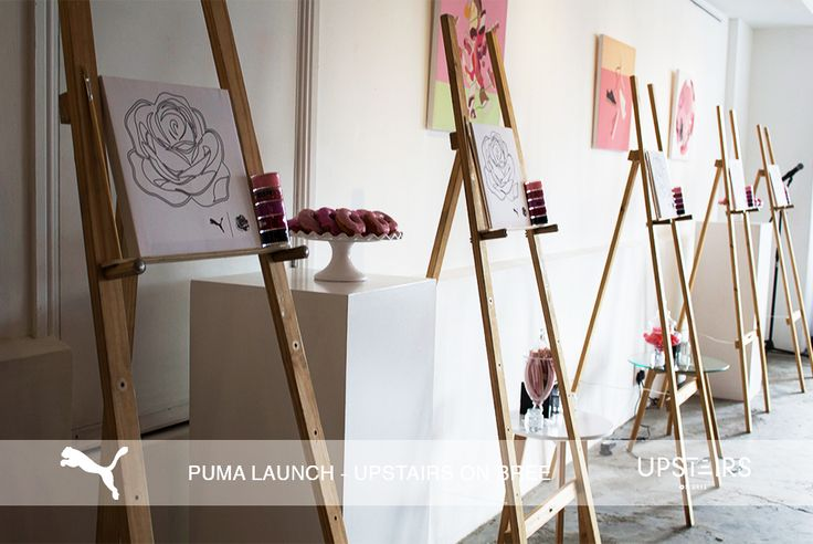 Upstairs on Bree  Puma Launch  #art #event #puma #paint #functionvenue #eventspace