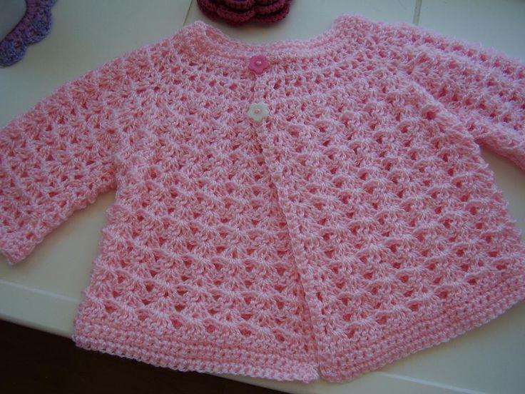 In The Pink Baby Crochet Top - via @Craftsy