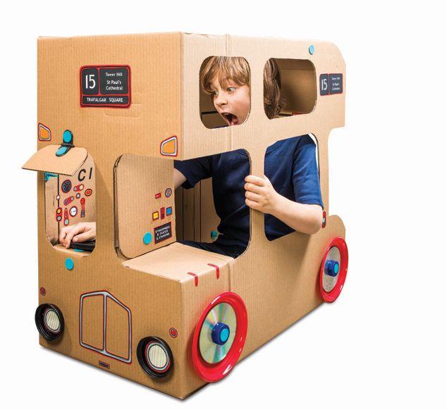 Design Museum Shop: Browse By Theme > London Design > Makedo London Bus Kit