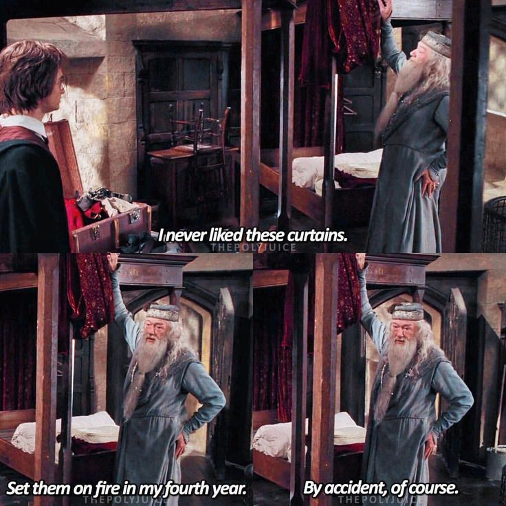 But of course. Albus would never do such a thing like that....