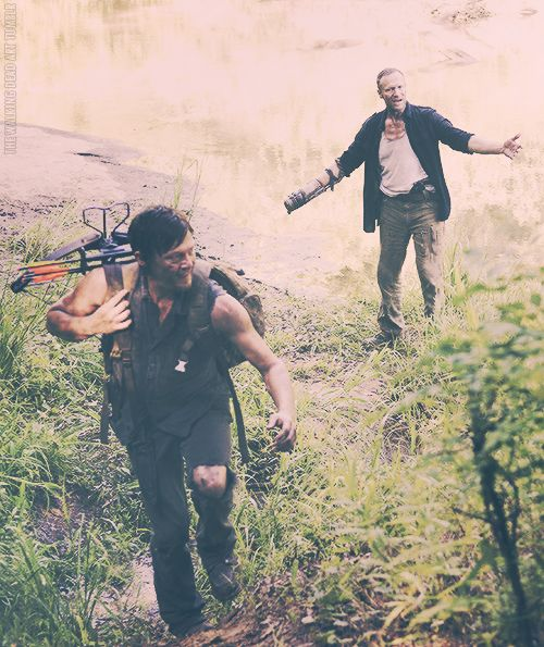 Daryl and Merle Dixon ~ The Walking Dead