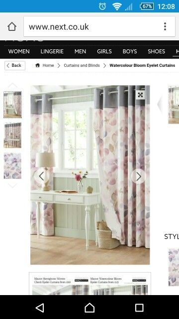 Bedroom. Love these. Pink and grey theme bedroom.
