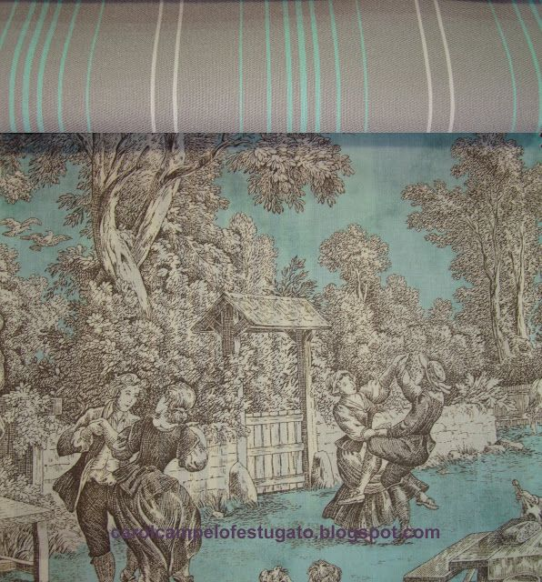 238 best fabrics images on pinterest toile canvases and farmhouse fabric. Black Bedroom Furniture Sets. Home Design Ideas