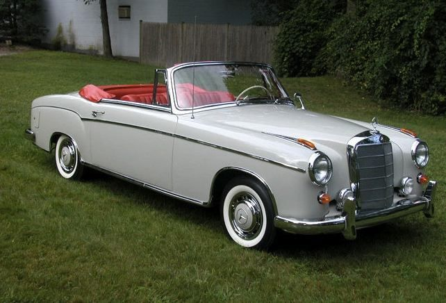 old convertibles an awesome old school convertible ripe for driving to mongolia in my 50. Black Bedroom Furniture Sets. Home Design Ideas