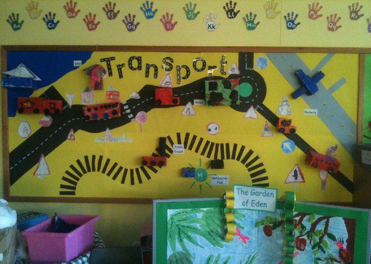 Transport classroom display