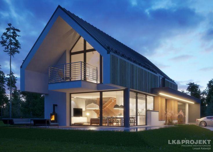 Projekty domów LK Projekt LK&1398 zdjęcie 3