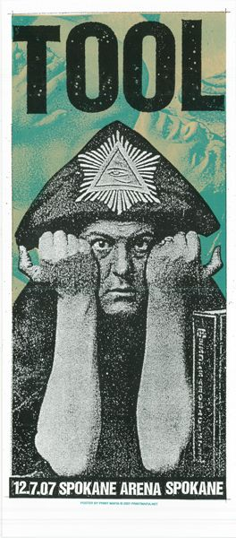 Tool-Crowley  I have this print and it's signed...I was at this show.