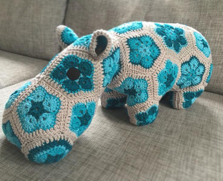 Hippo, african flower, ravely