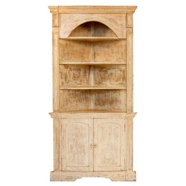 Check out this item at One Kings Lane! Colonial Corner Hutch