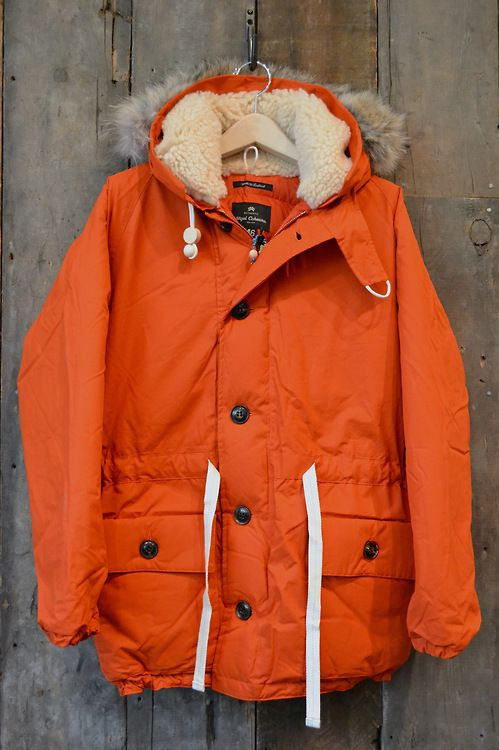 Nigel Cabourn - Everest Parka in Vintage Orange