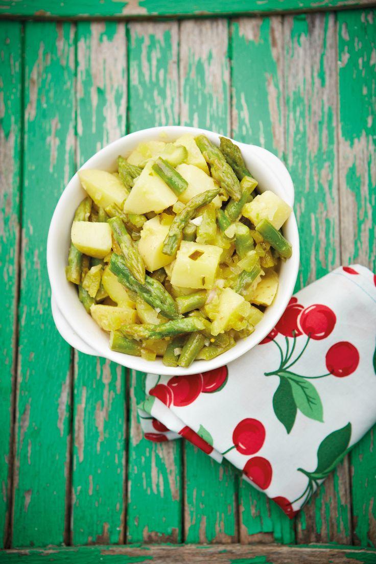 Pickle and Green Bean Potato Salad