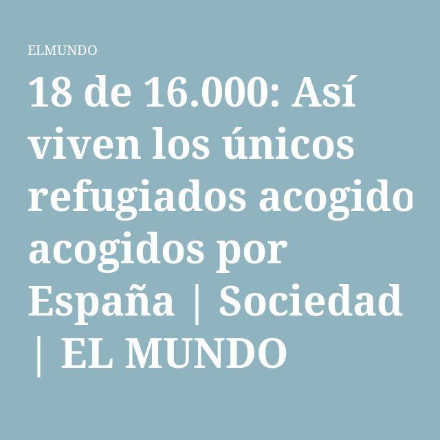 18 de 16.000: Así viven los únicos refugiados acogidos por España | Sociedad | EL MUNDO