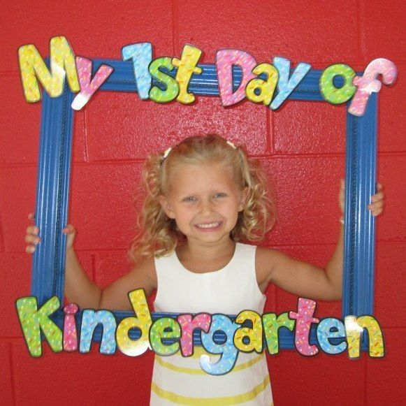 @Cynthia Parrish  ... Maybe for Preschool?  First day of school                                                                                                                                                                                 More