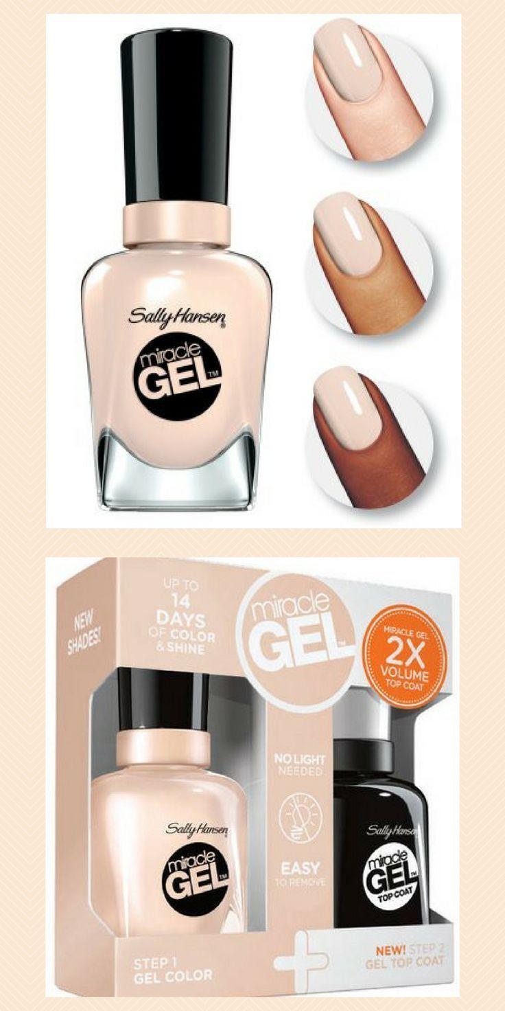 Sally Hansen Miracle Gel Nail Polish + Top Coat Duo Pack