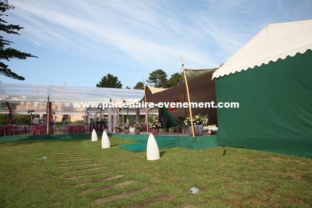 Décoration Location Tente Mariage - PARTENAIRE EVENEMENT
