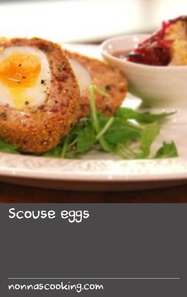 Scouse eggs  |      Try Simon Rimmer's recipe for vegetarian Scotch eggs with a spicy homemade pickle.